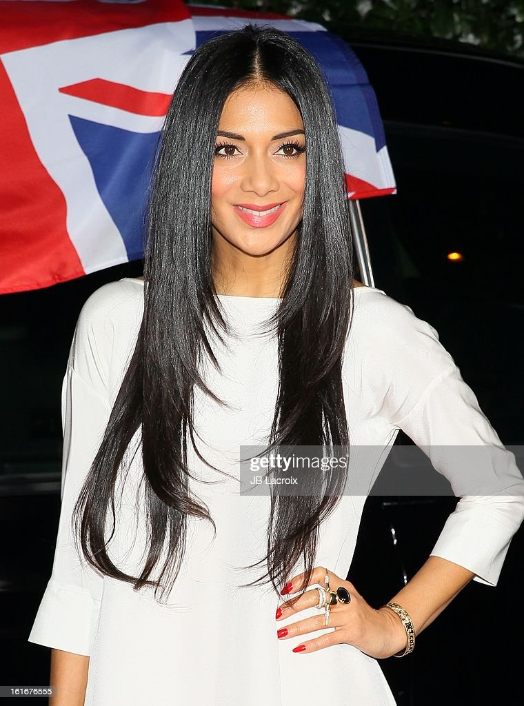 Nicole Scherzinger attends the Topshop Topman LA Opening Party held at Cecconi's Restaurant on February 13, 2013 in Los Angeles, California.