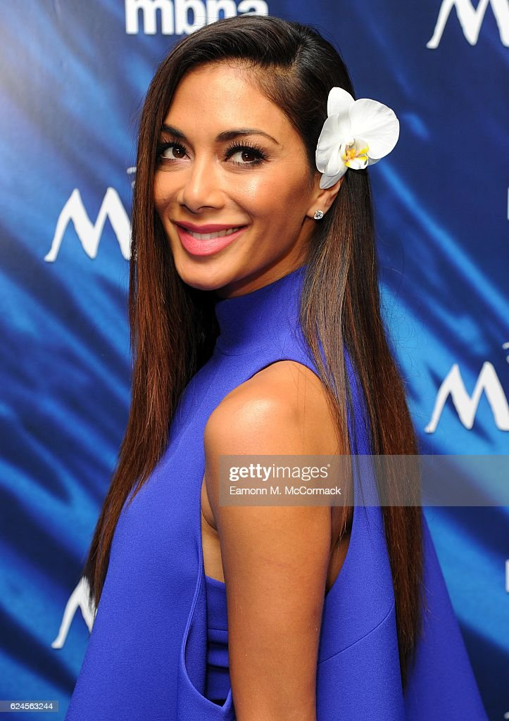 Nicole Scherzinger attends the UK Gala screening of 'MOANA' at BAFTA on November 20, 2016 in London, England.