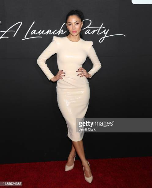 Nicole Scherzinger attends the Wheels LA Launch at Sunset Tower on March 14, 2019 in Los Angeles, California.