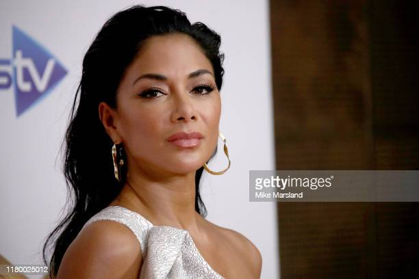 Nicole Scherzinger attends The X Factor Celebrity launch photocall at The Mayfair Hotel on October 09 2019 in London England