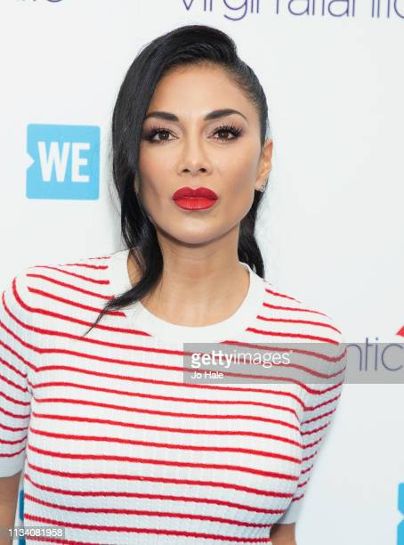 Nicole Scherzinger attends We Day UK at SSE Arena Wembley at SSE Arena on March 06 2019 in London England
