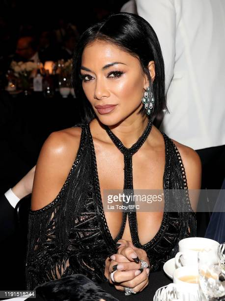 Nicole Scherzinger during The Fashion Awards 2019 held at Royal Albert Hall on December 02 2019 in London England