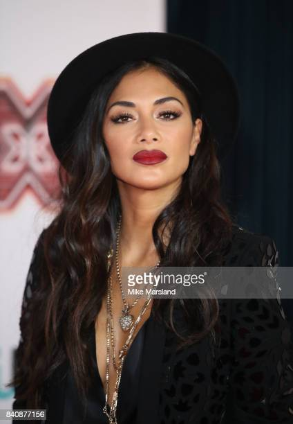 Nicole Scherzinger during The X Factor series 14 red carpet press launch at Picturehouse Central on August 30 2017 in London England