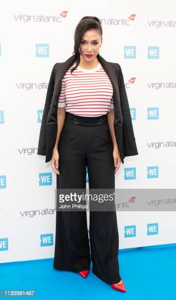 Nicole Scherzinger during WE Day UK 2019 at The SSE Arena on March 06 2019 in London England