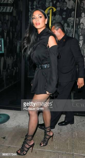Nicole Scherzinger is seen on June 06 2018 in Los Angeles California