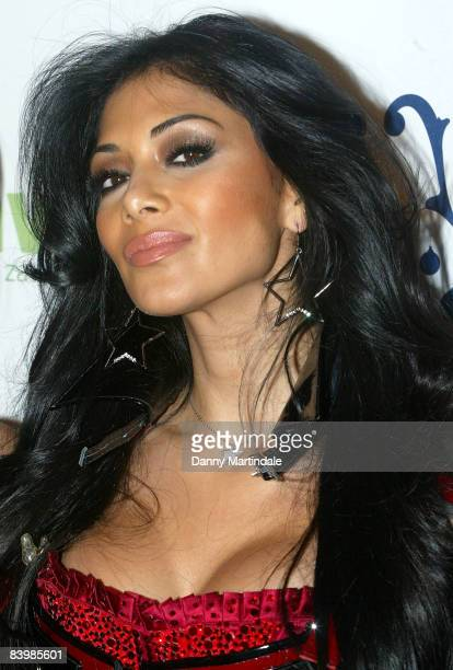 Nicole Scherzinger of the band PussyCat Dolls attends the Jingle Bell Ball at The O2 Arena on December 10 2008 in London England
