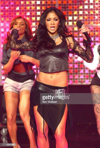 Nicole Scherzinger of The Pussycat Dolls during 'Dick Clark's New Year's Rockin' Eve 2006' PreTaping Day 1 at Center Staging in Burbank California...