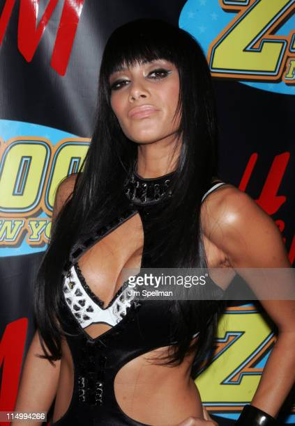 Nicole Scherzinger of The Pussycat Dolls during Z100's Jingle Ball 2006 Press Room at Madison Square Garden in New York City New York United States