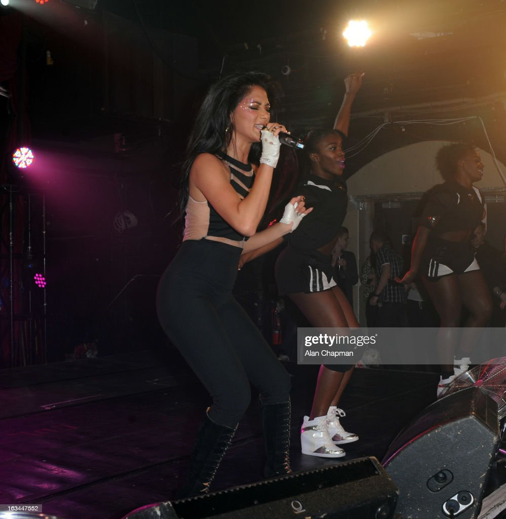 Nicole Scherzinger performs at London's G-A-Y nightclub on March 9, 2013 in London, England.
