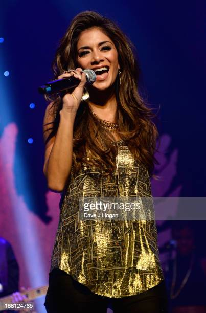 Nicole Scherzinger performs onstage at The Global Angel Awards at the Roundhouse on November 15 2013 in London England