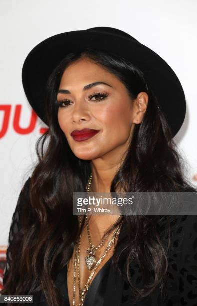 Nicole Scherzinger poses for a photo during The X Factor Series 14 red carpet press launch at Picturehouse Central on August 30 2017 in London England