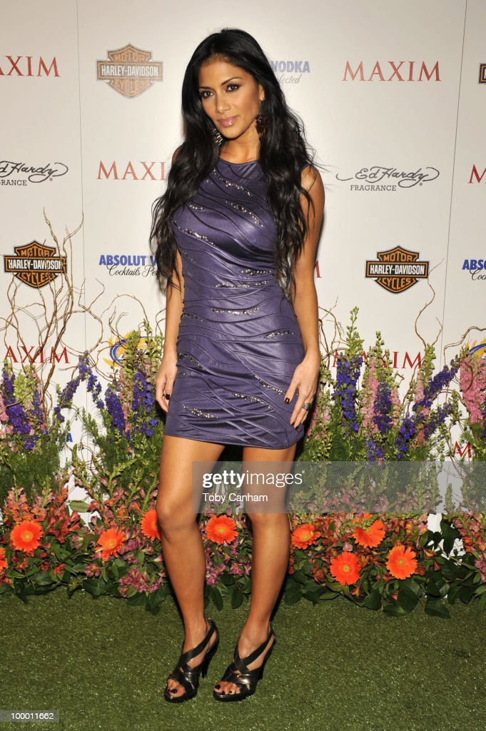 Nicole Scherzinger poses for a picture at the 11th Annual Maxim Hot 100 Party on May 19, 2010 in Los Angeles, California.