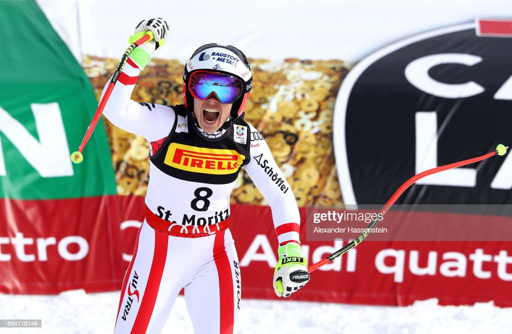 FIS World Ski Championships - Women's Super G : News Photo