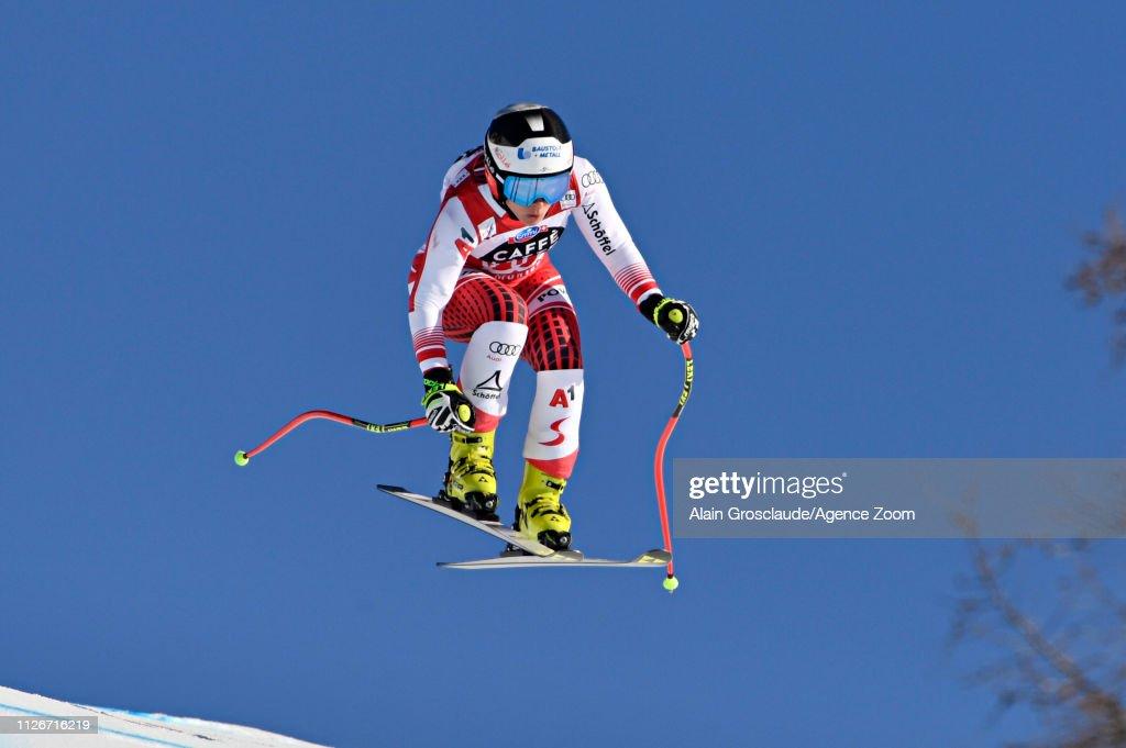 CHE: Audi FIS Alpine Ski World Cup - Women's Downhill Training