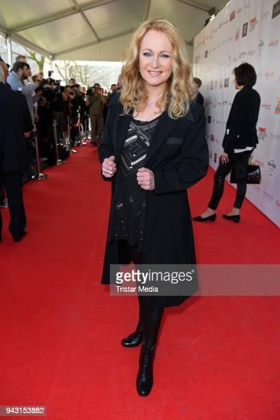 Nicole Seibert attends the 'Goldene Sonne 2018' Award by SonnenklarTV on April 7 2018 in Kalkar Germany