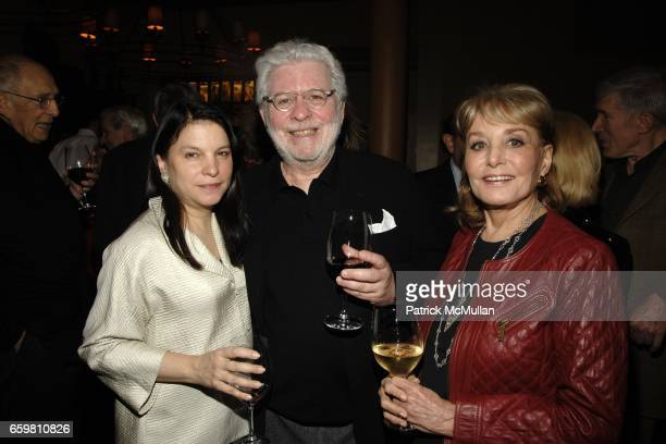 Nicole Seligman Richard Cohen and Barbara Walters attend LINDA and MORT JANKLOW 49th Wedding Anniversary at Wine Restaurant on November 27 2009 in...