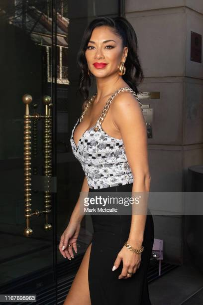 Nicole Sherzinger on August 13 2019 in Sydney Australia