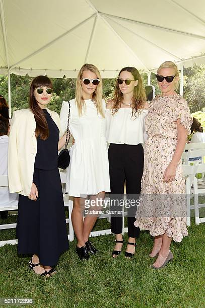 Nicole Simone Kelly Sawyer Patricof Jenni Kayne and Ali Taekman attend Annual HEART Brunch Featuring Stella McCartney on April 14 2016 in Los Angeles...