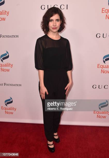 Nicole Smolen attends Equality Now's Annual Make Equality Reality Gala at The Beverly Hilton Hotel on December 03 2018 in Beverly Hills California