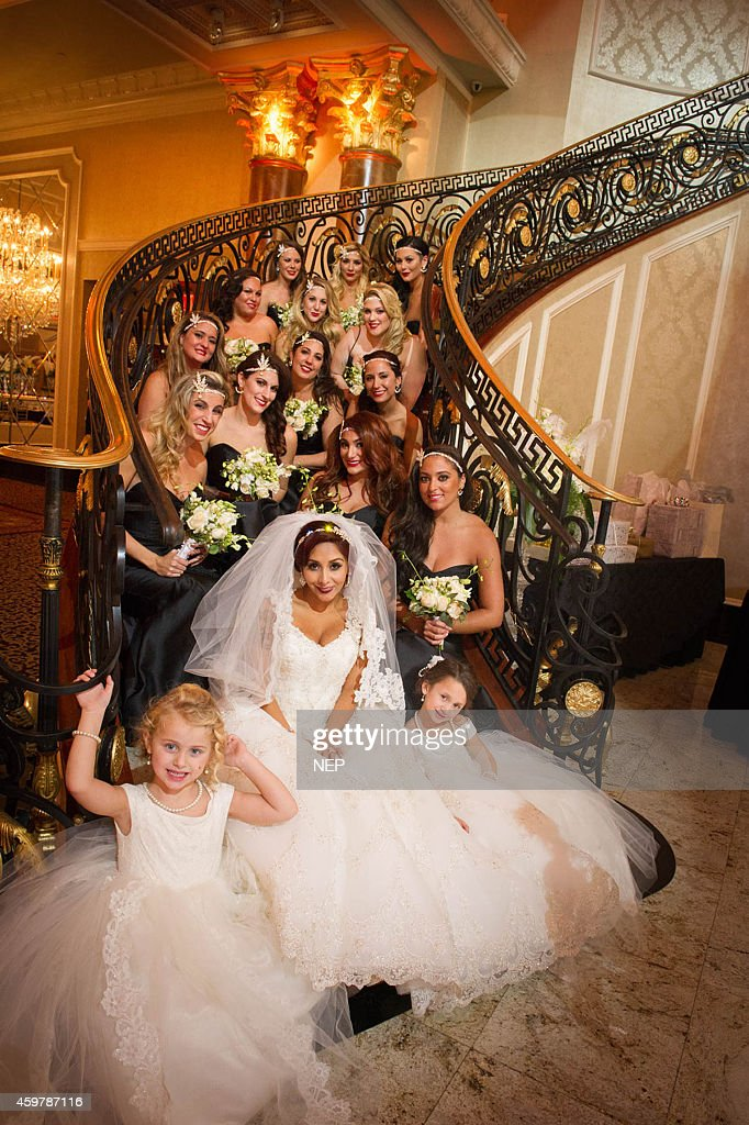Nicole Snooki Polizzi And Bridal Party Are Seen During The Wedding Of