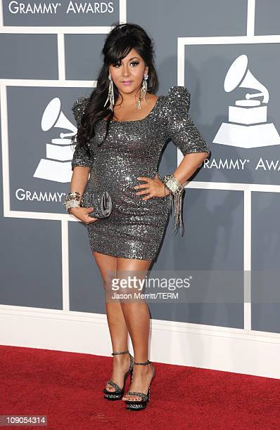 Nicole Snooki Polizzi arrives at The 53rd Annual GRAMMY Awards held at Staples Center on February 13 2011 in Los Angeles California