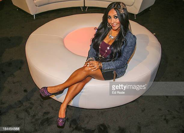 Nicole 'Snooki' Polizzi attends Nicole 'Snooki' Polizzi Indoor And Sunless Tanning Collection Launch Event at Nashville Convention Center on October...