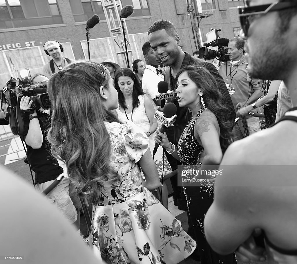 Nicole 'Snooki' Polizzi attends the 2013 MTV Video Music Awards at the Barclays Center on August 25, 2013 in the Brooklyn borough of New York City.