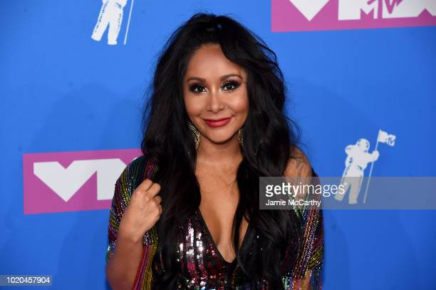 Nicole 'Snooki' Polizzi attends the 2018 MTV Video Music Awards at Radio City Music Hall on August 20 2018 in New York City