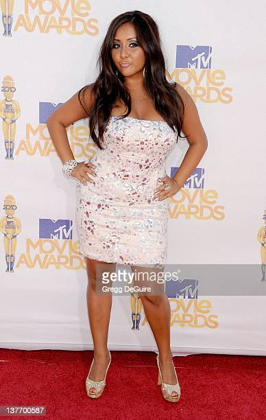 Nicole 'Snookie' Polizzi attends the 2010 MTV Movie Awards at the Gibson Amphitheatre on June 6, 2010 in Universal City, California.