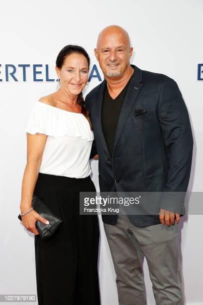 Nicole Steves and Detlef Steves attend the Bertelsmann Summer Party at Bertelsmann Repraesentanz on September 6 2018 in Berlin Germany