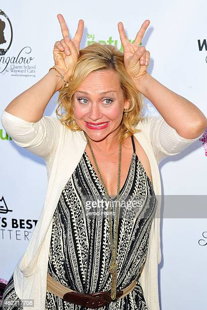 Nicole Sullivan attends the Kitty Bungalow Charm School for Wayward Cats presents CATbaret on August 1 2015 in Hollywood California