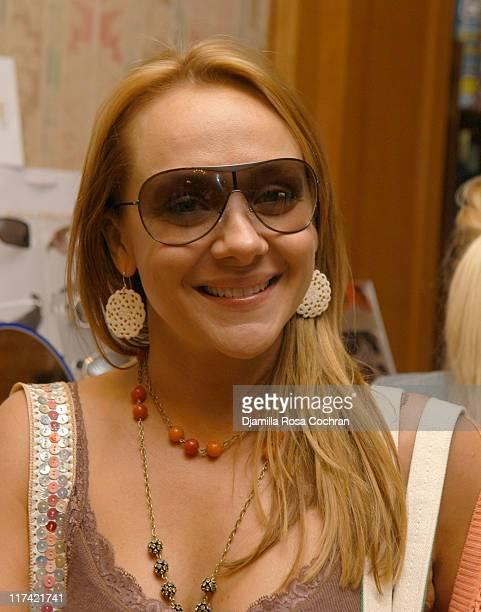Nicole Sullivan wearing Giorgio Armani 280S Sunglasses
