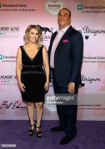 Nicole Taffer and Jon Taffer attend the 22nd annual Keep Memory Alive 'Power of Love Gala' benefit for the Cleveland Clinic Lou Ruvo Center for Brain...