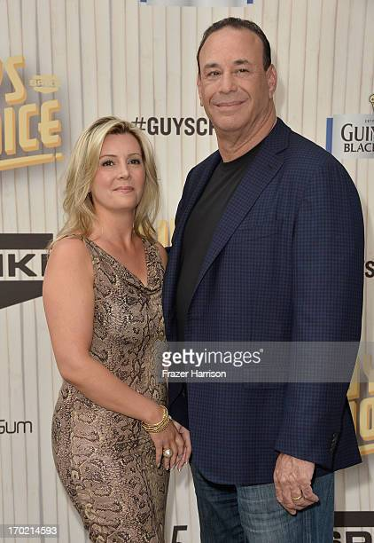 Nicole Taffer and TV personality Jon Taffer attend Spike TV's Guys Choice 2013 at Sony Pictures Studios on June 8 2013 in Culver City California