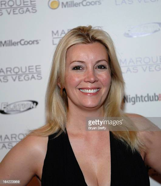 Nicole Taffer arrives at a Platinum party at the Marquee Nightclub at The Cosmopolitan of Las Vegas during the 28th annual Nightclub Bar Convention...