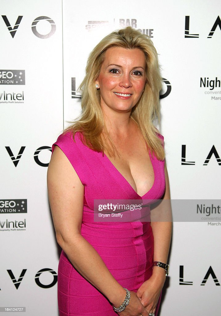 Nicole Taffer arrives during a 'Bar Rescue' happy hour event at the Lavo Restaurant & Nightclub at The Palazzo Las Vegas during the 28th annual Nightclub & Bar Convention and Trade Show on March 19, 2013 in Las Vegas, Nevada.