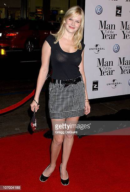 Nicole Tom during Man of the Year World Premiere Arrivals at Grauman's Chinese Theatre in Hollywood California United States