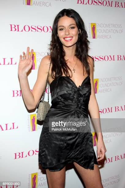 Nicole Trunfio attends The BLOSSOM BALL To Benefit The Endometriosis Foundation of America at The Prince George Ballroom on April 20 2009 in New York...
