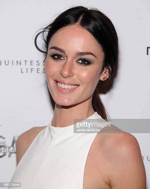 Nicole Trunfio attends The Great Gatsby Special Screening at the Museum of Modern Art on May 5 2013 in New York City