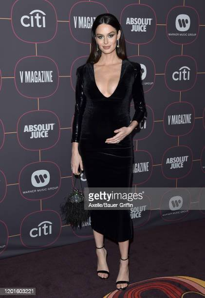 Nicole Trunfio attends Warner Music Group PreGrammy Party 2020 at Hollywood Athletic Club on January 23 2020 in Hollywood California