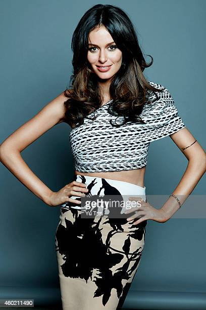 Nicole Trunfio is photographed for Variety on September 6 2014 in Toronto Ontario