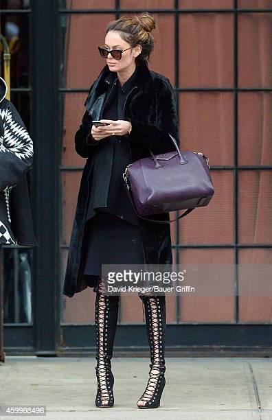 Nicole Trunfio is seen in New York City on December 04 2014 in New York City