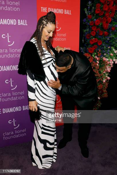 Nicole Tuck and DJ Khaled attend the 5th Annual Diamond Ball benefiting the Clara Lionel Foundation at Cipriani Wall Street on September 12, 2019 in...