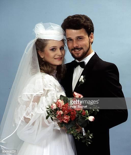 Nicole und Ehemann Winfried Seibert Hochzeit Promi Foto PBischoff
