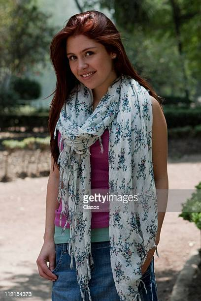 Nicole Vale at the recording of the TV Show Como dice el dicho on April 12 2011 in Mexico City Mexico