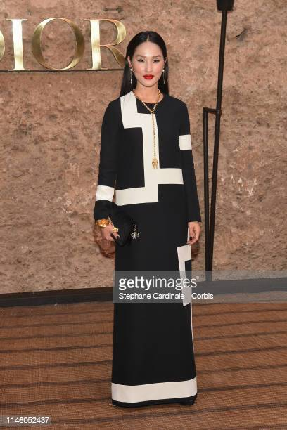 Nicole Warne attends the Christian Dior Couture S/S20 Cruise Collection on April 29 2019 in Marrakech Morocco