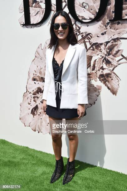 Nicole Warne attends the Christian Dior Haute Couture Fall/Winter 20172018 show as part of Haute Couture Paris Fashion Week on July 3 2017 in Paris...