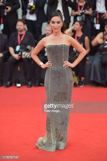Nicole Warne walks the red carpet ahead of the Opening Ceremony and the La Vérité screening during the 76th Venice Film Festival at Sala Grande on...