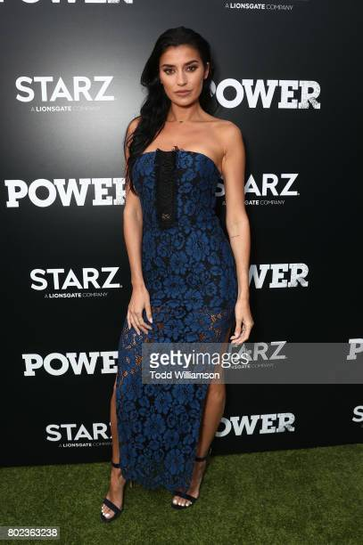 Nicole Williams attends STARZ 'Power' Season 4 LA Screening And Party at The London West Hollywood on June 23 2017 in West Hollywood California