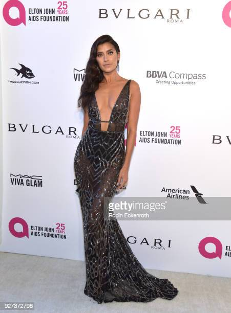 Nicole Williams attends the 26th annual Elton John AIDS Foundation's Academy Awards Viewing Party at The City of West Hollywood Park on March 4 2018...